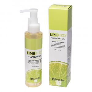 Гідрофільне масло з екстрактом лайма і вітаміном С - Secret Skin Lime Fizzy Cleansing Oil 120ml