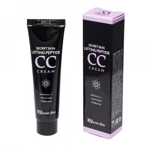 Пептидний СС крем з ліфтинг-ефектом Secret Skin Lifting Peptide CC Cream SPF50+ PA+++ 30ml