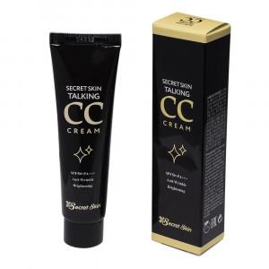 СС крем для вирівнювання тону шкіри Secret Skin Talking CC Cream SPF50+PA+++ 30ml