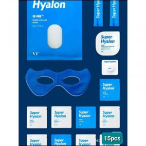 Набір інтенсивно зволожуючих мініатюр VT COSMETICS Super Hyalon Water Solution Kit