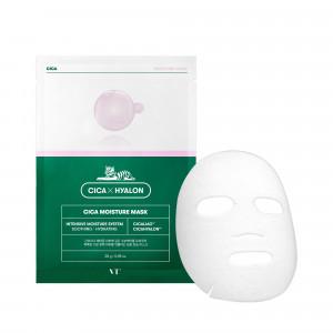 Зволожуюча тканинна маска для чутливої шкіри VT COSMETICS Cica Moisture Mask 28g